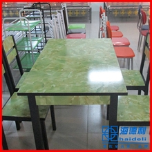 green dining table wholesale by Chinese furniture manufacturers