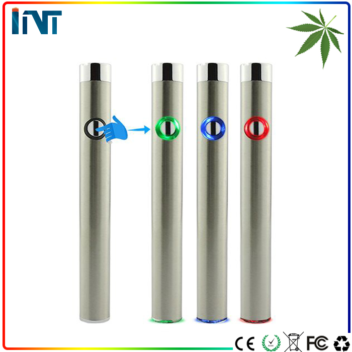 Voltage adjustable huge cloud preheat ecig 510 battery for CBD THC CO2 oil vape cartridge