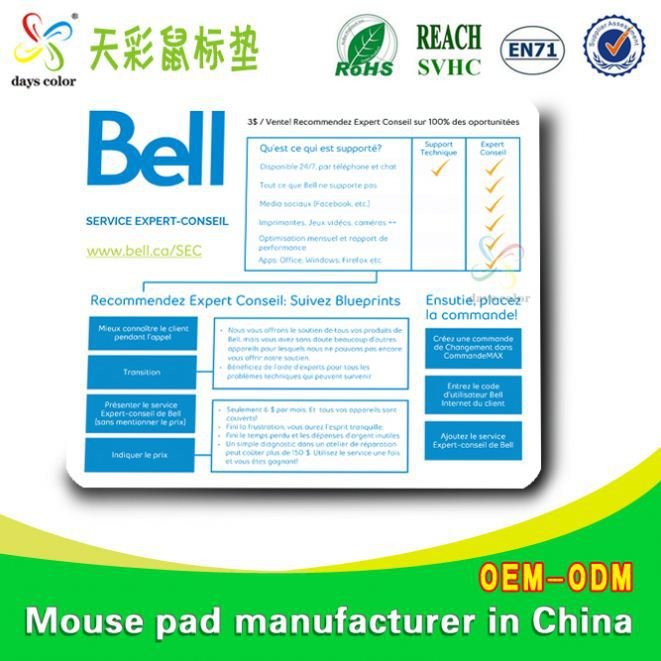 Computer Game Mat Mat Eco-Friendly Natural Rubber Anti-Slip Mouse Pads