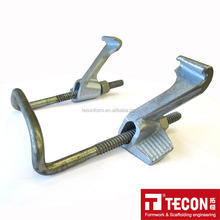 Timber beam formwork clamp