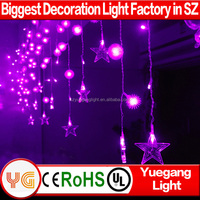 Best price christmas outdoor led icicle light led falling icicle light led shooting star icicle light with 8 flash modes 220V