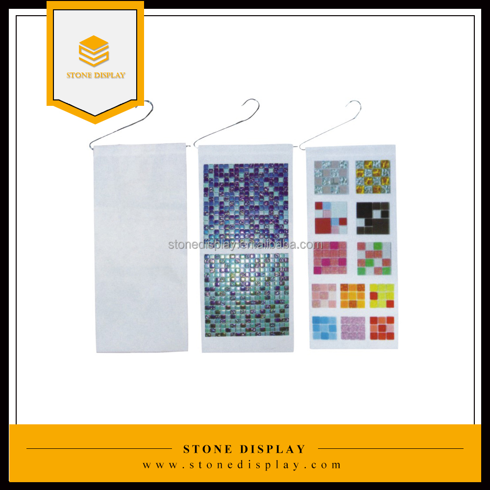 hanging style display sample board, ceramic tile display sample frame