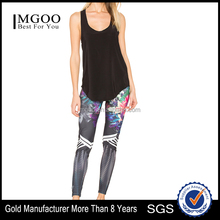 MGOO Tight Fit Gym Wear Yoga Pants For Women Sublimation Printing Wholesale Sport Pants