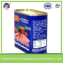 China supplier canned food products corned beef