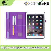 PU Tablet Accessories Factory In China Flip Case / Cover For iPad Air 2