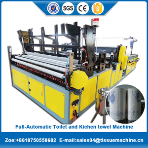 Hot-sale Cheap toilet paper machine prodution line with CNC processing