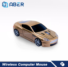 2.4GHz Wireless Computer Car Shaped Cute Mini Mouse