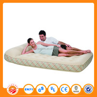 pvc inflatable air bed by cheap price in good quality