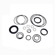 glassfiber/carbon/bronze filled PTFE seal with rubber O Ring loaded sliding step seal ring