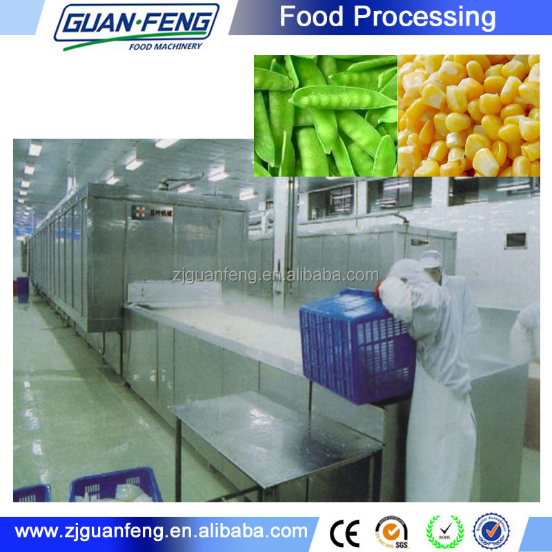 machinery for frozen vegetable production line
