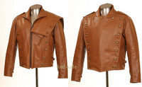 Genuine Leather Custom Made Jacket Film Rocketeer