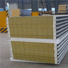 Hot sale Zlock rockwool sandwich panel for wall and celling
