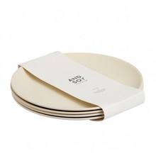 Biological Eco-friendly top-selling Bamboo Fiber Round Dinner <strong>Plate</strong>