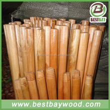 Varnish painted wood broom stick,broom handles
