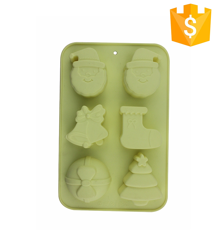 Hot Sale Funny Shaped Halloween Customized Shape Silicone Rubber Cake Mold