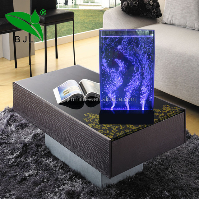 hotel room ornaments vortex led water bubble wall
