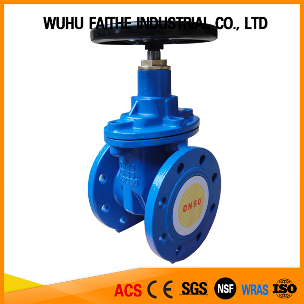 "(Hot Sale)DN65 21/2""Inch Rising Stem Metal Seated Gate Valves"