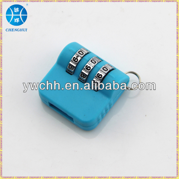 Combination lock USB connector lock with plastic material