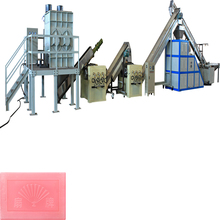 The Duplex vacuum soap Plodder for toilet soap and laundry soap making plant