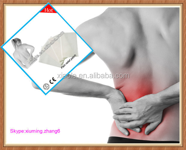 Hot sale new self heating patch to relief muscle/knee pain,arthritis,rheumatism