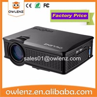 pocket 1500 lumen strong entertainment lighting led projector
