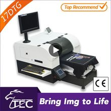 high-speed a3 dx5 head 1440dpi textile dtg printer with heater