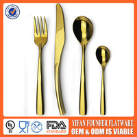 Gold plated cutlery wholesale
