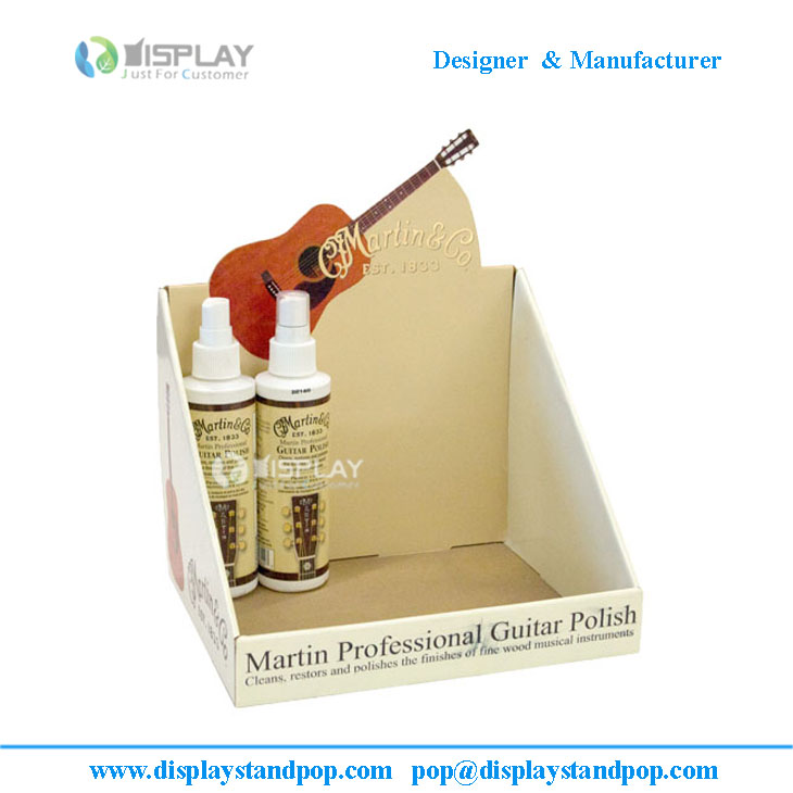 Counter display, pdq display, custom design cardboard table top display rack