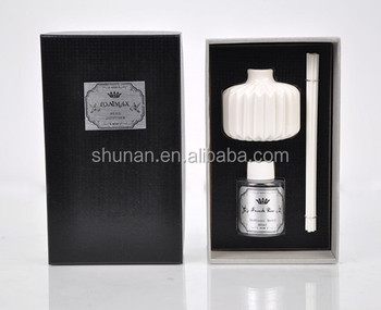 SA-2026 home fragrance diffuser / 80ml diffuser with ceramic bottle