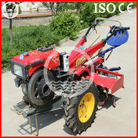 walking garden gravely two wheel tractor for sale with low price