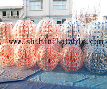inflatable bubble soccer ball for football