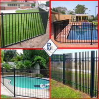 vinyl pvc hot-dip galvanized water proof wooden fence picket for sale