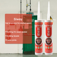 Anti-fungus High intensity Fireproof silicone sealant