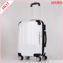 Luggage factory 4 alloy trolley wheels 3 piece personalized travel trolley luggage sets