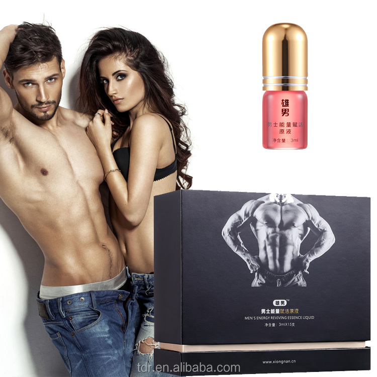 Men's Energy Reviving Essence Liquid for Sex Alibity improvement and Sex enhance oil sex products for men