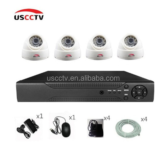 CCTV H.264 Realtime dome rt5350 IP Camera CCTV nvr kit
