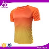 Guangzhou Shandao sublimation multi-colors Sports Style Short Sleeve lawn tennis sports wear