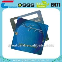 Customized color,size,shape and logo airline hang tag