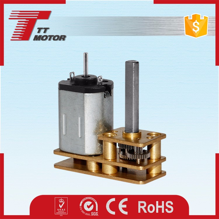 TT Motor and gm12-n20 gear motor from donghui motor