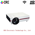 CRE X1500 HD LED Single Chip LCD 1280x800 Multimedia Projector With 2800 Lumens Support 1080p