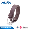 Alfa Alibaba Hot Products Jeans Mens Natural Genuine Leather Belt With Trade Data