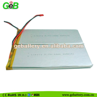 high capacity Li-Polymer battery/3.7V 10Ah 9059156 rechargeable for RC Model products