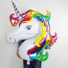 Big Inflatable toys for kids Unicorn balloon cartoon foil balloon