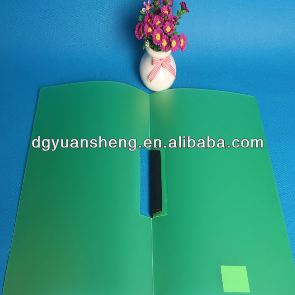 manufacturer custom made plastic a4 rotating file holder