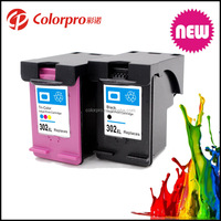 2016 New remanufactured ink cartridge 302 302XL replacement for HP 302XL ink cartridge for HP 1110 2130 2131 printer