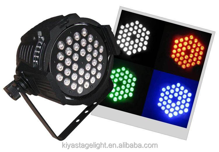2017 Stage light 36*3W led par can Disco par 64 uv light bright led par light