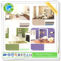 Pearlescent pigment interior silk plaster wall covering waterborne paint