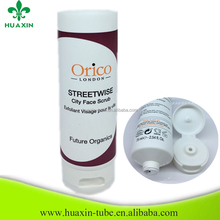 export custom pe cosmetic tube with foil seal