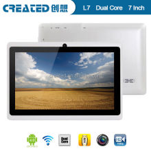 7inch q88 all winner A13 made in china competitive price tablet pc