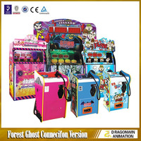 hottest coin operated 4D simulator arcade shooting game machine